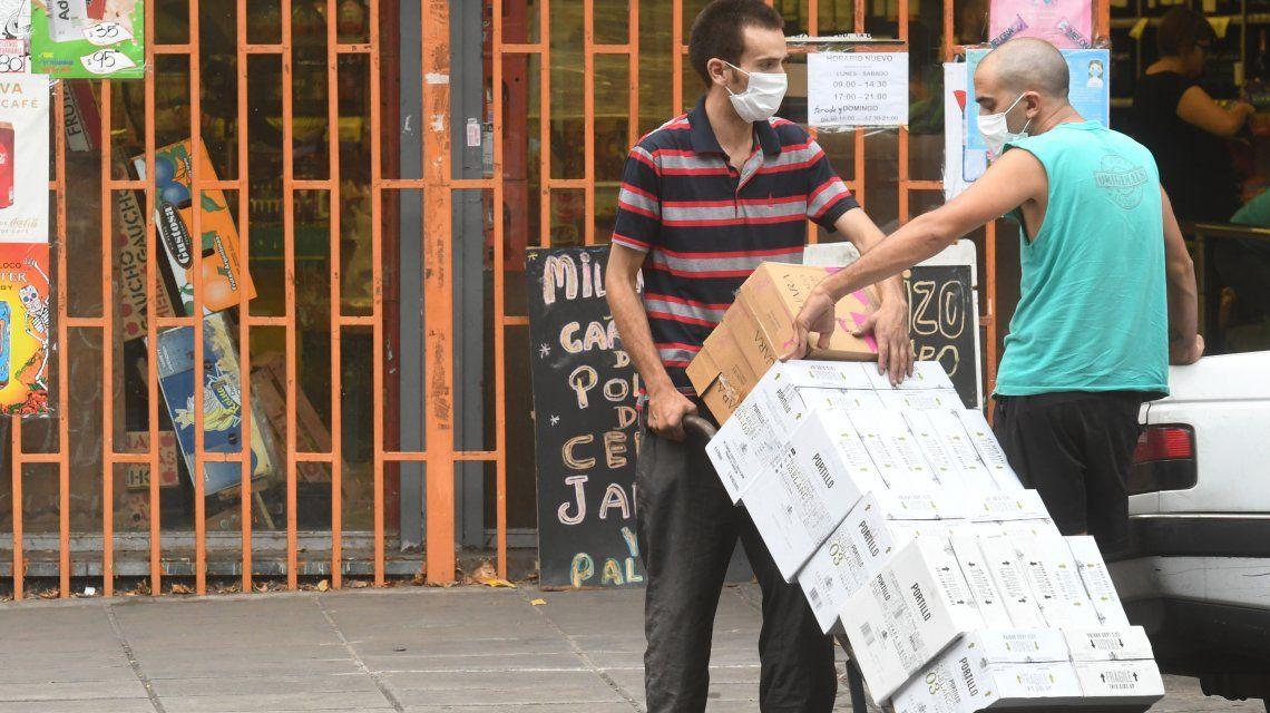 Comercios no esenciales están cerrados por la cuarentena del coronavirus