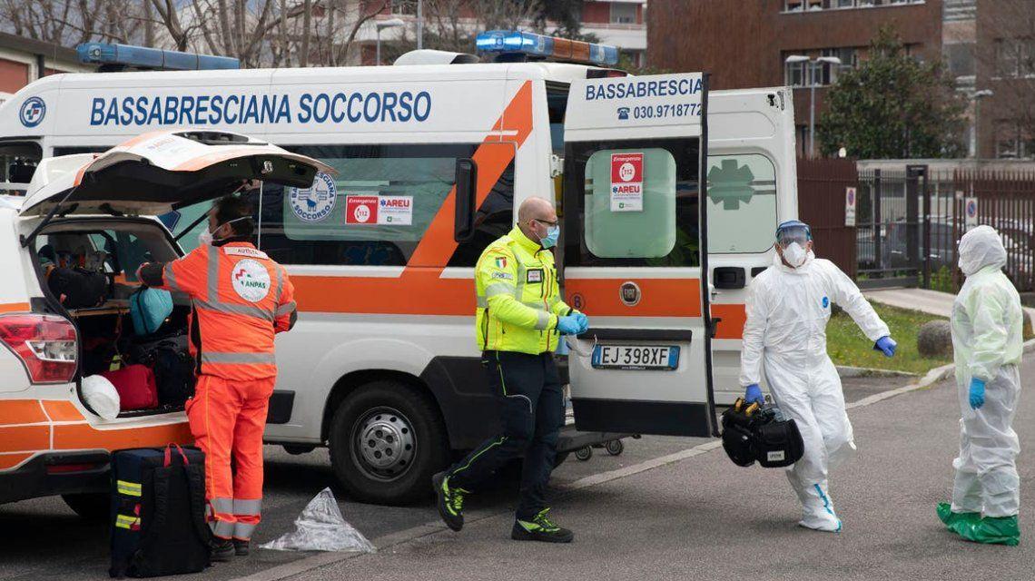 Italia llegó a un nuevo récord: 919 nuevos casos de coronavirus en un día