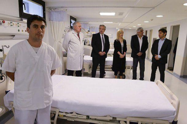 De la recorrida también participó el gobernador de la provincia de Buenos Aires, Axel Kicillof