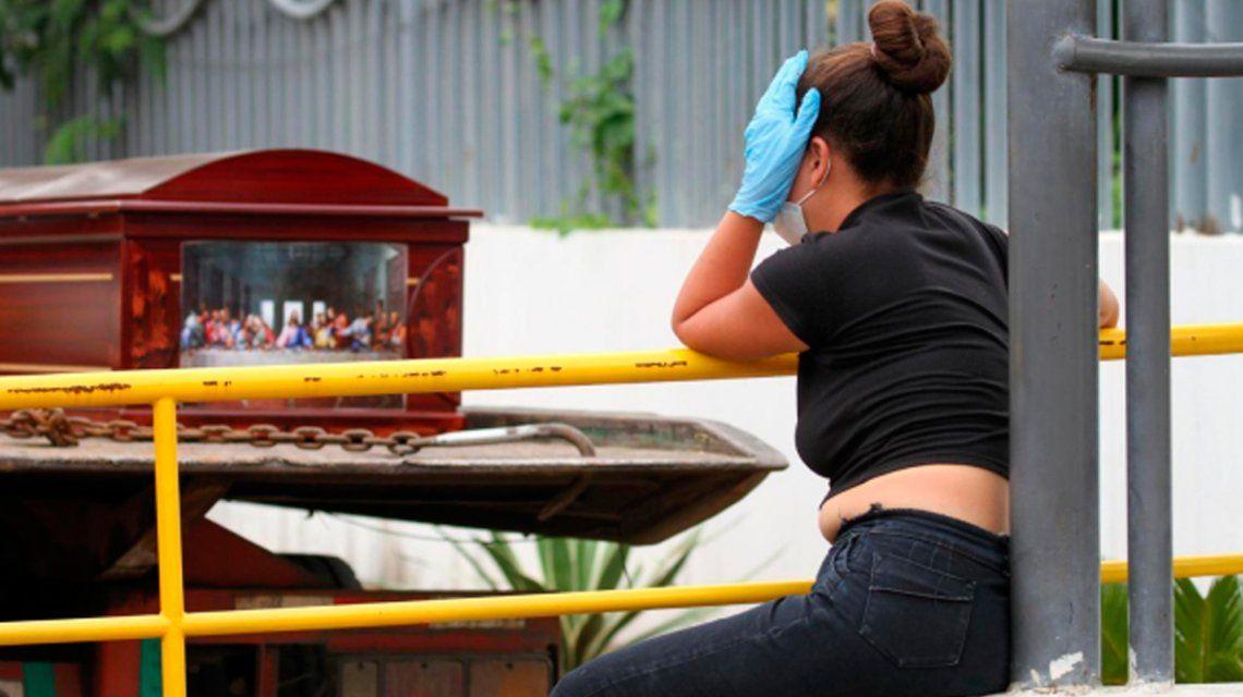 Coronavirus: retiraron 150 cuerpos de viviendas en Guayaquil