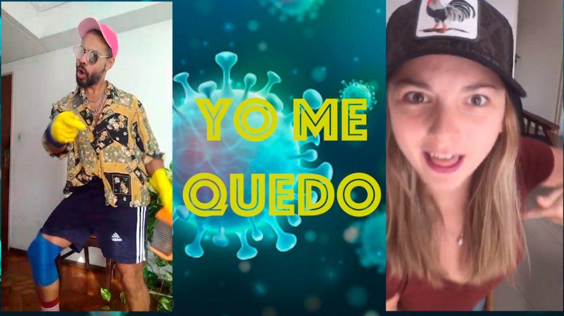 De Soy Sabalero a En casa me quedo: el nuevo video viral de la cuarentena
