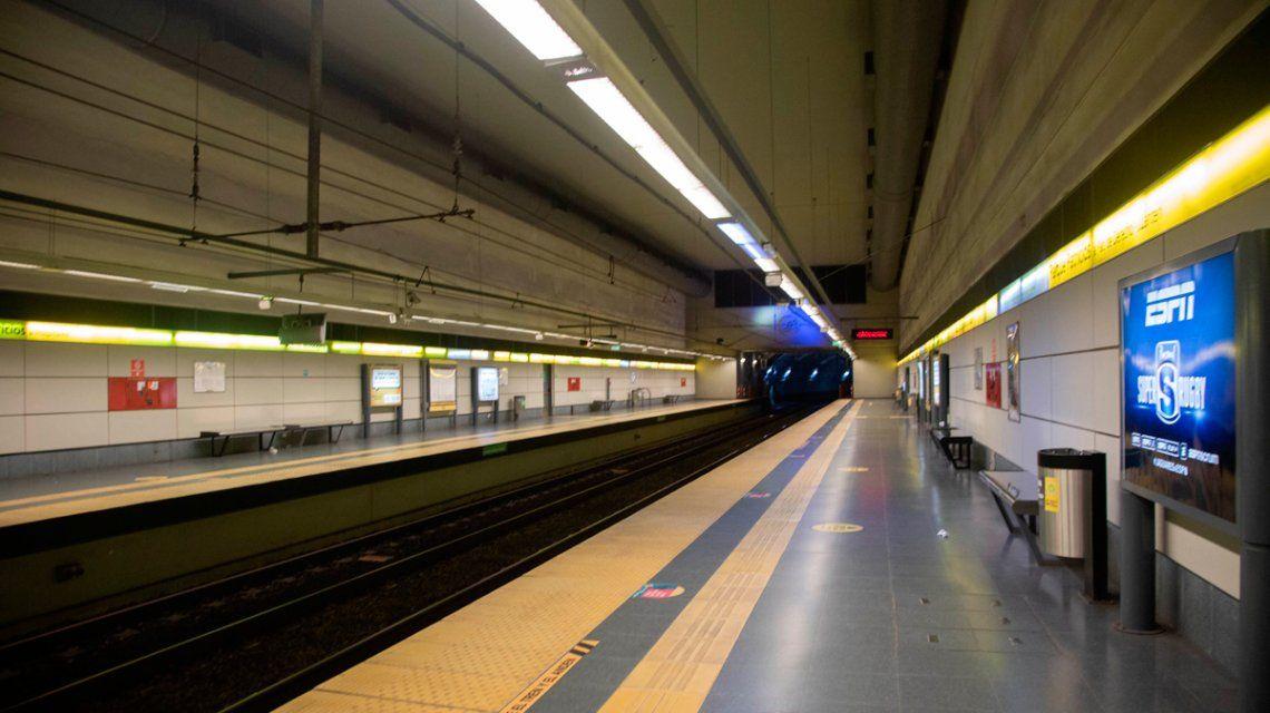 Reabren estaciones de subte con motivo de la apertura de bancos. Foto: GCBA