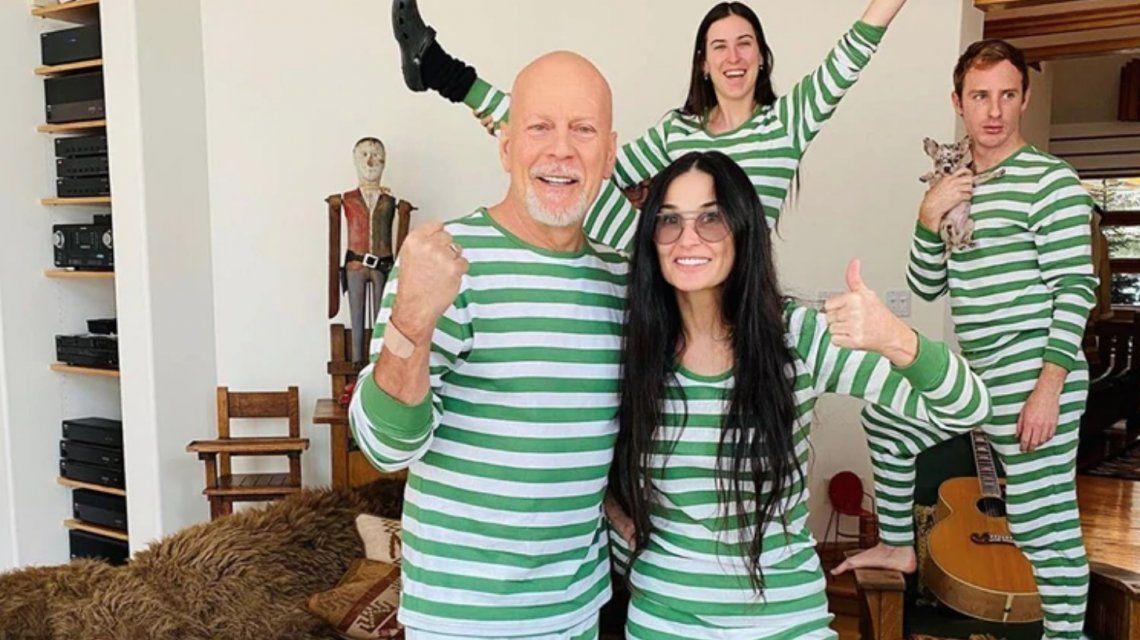 La historia de amor de Demi Moore y Bruce Willis