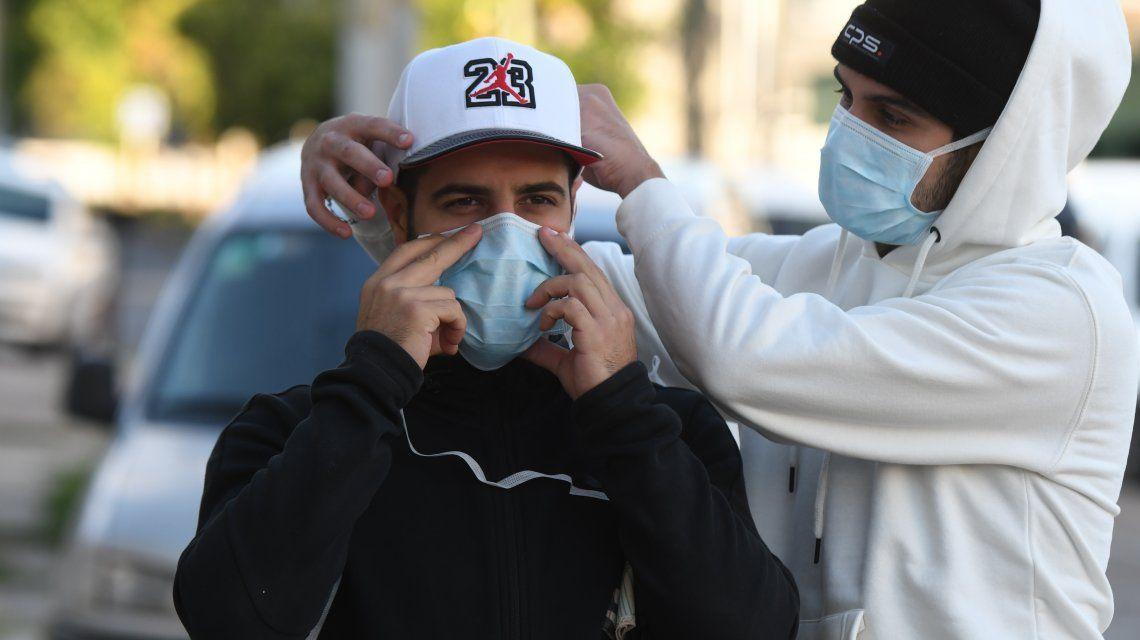 Coronavirus: el tapa nariz boca, obligatorio en Provincia