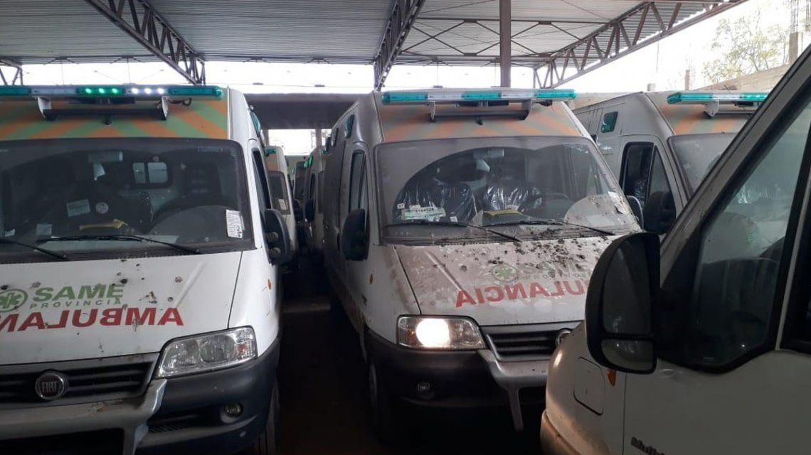 Recuperaron 24 ambulancias abandonadas en galpones por la gestión de María Eugenia Vidal