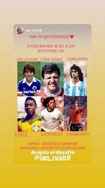 Ian Rush es el máximo goleador de la historia del Liverpool
