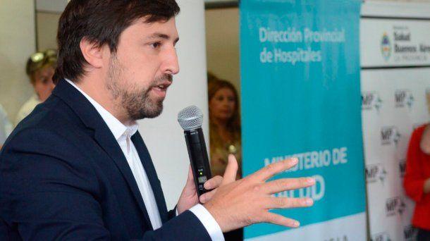 El viceministro de Salud de la provincia de Buenos Aires, Nicolás Kreplak