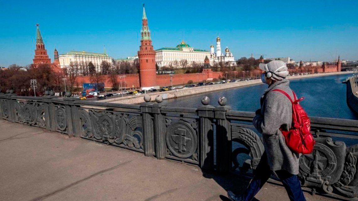 Preocupación en Rusia: se registraron más de 8 mil casos de coronavirus en un día