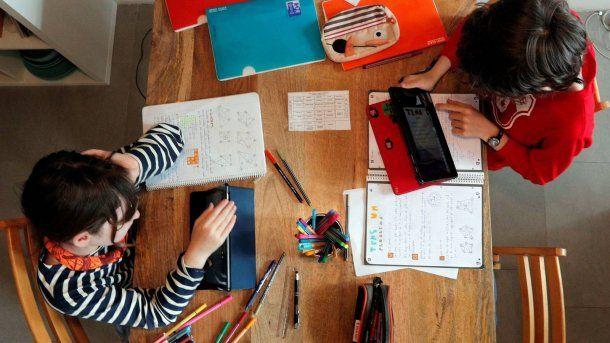 Educación: por la cuarentena, las escuelas transformaron las clases presenciales en virtuales