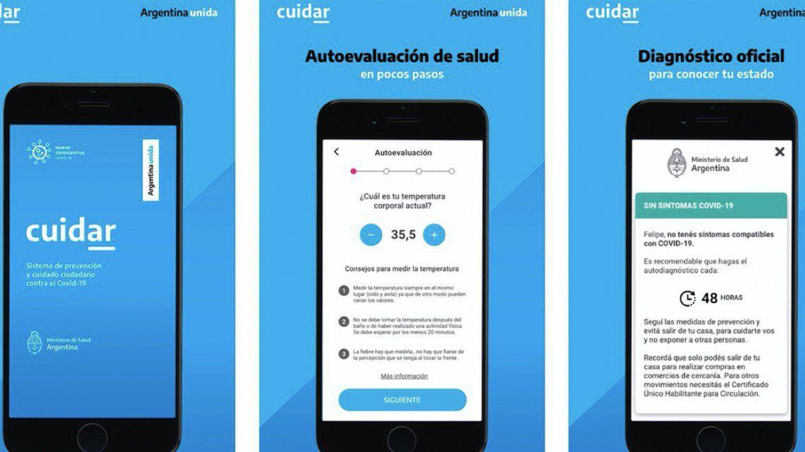 Presidencia lanzó la aplicación Cuidar