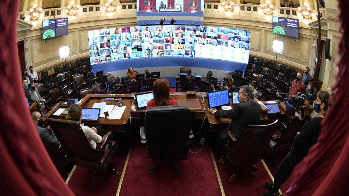 Senado virtual: la Cámara Alta del Congreso sesionará a distancia este miércoles para respetar el aislamiento social