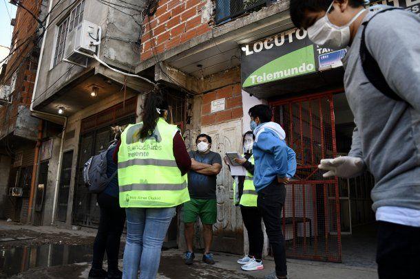 Nueve positivos de coroanvirus sobre 10 test realizados en el barrio 1-11-14