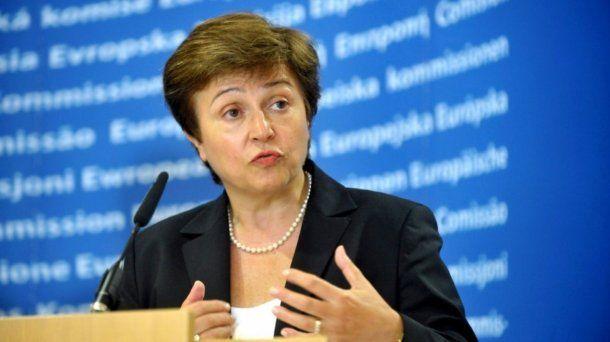 La titular del FMI, Kristalina Georgieva