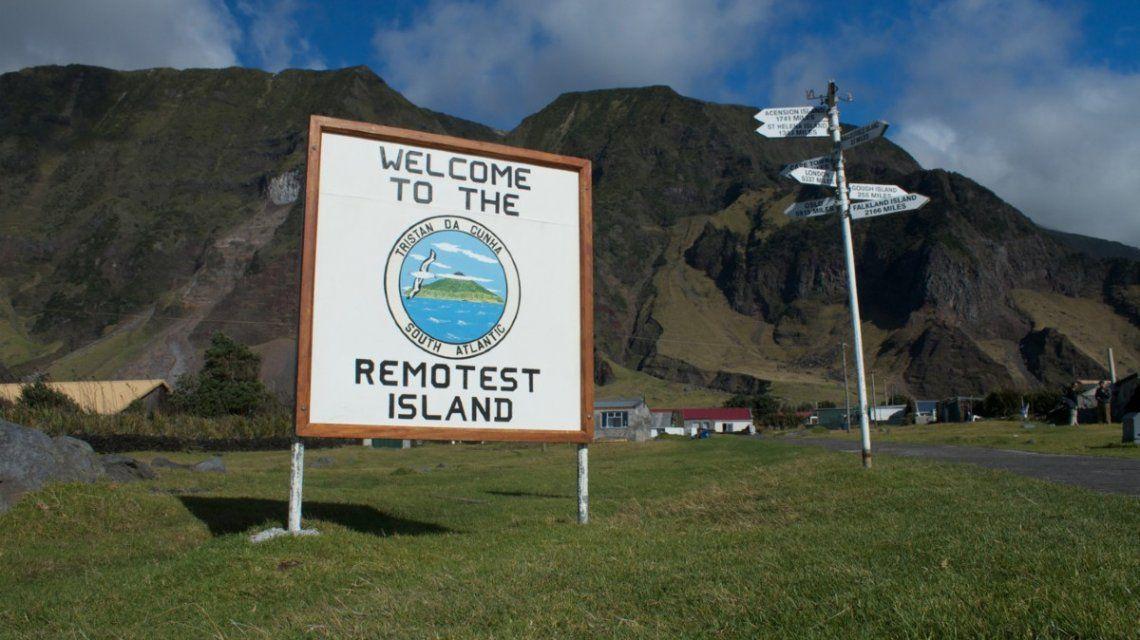 La isla Tristán de Acuña es el lugar habitado más remoto del mundo