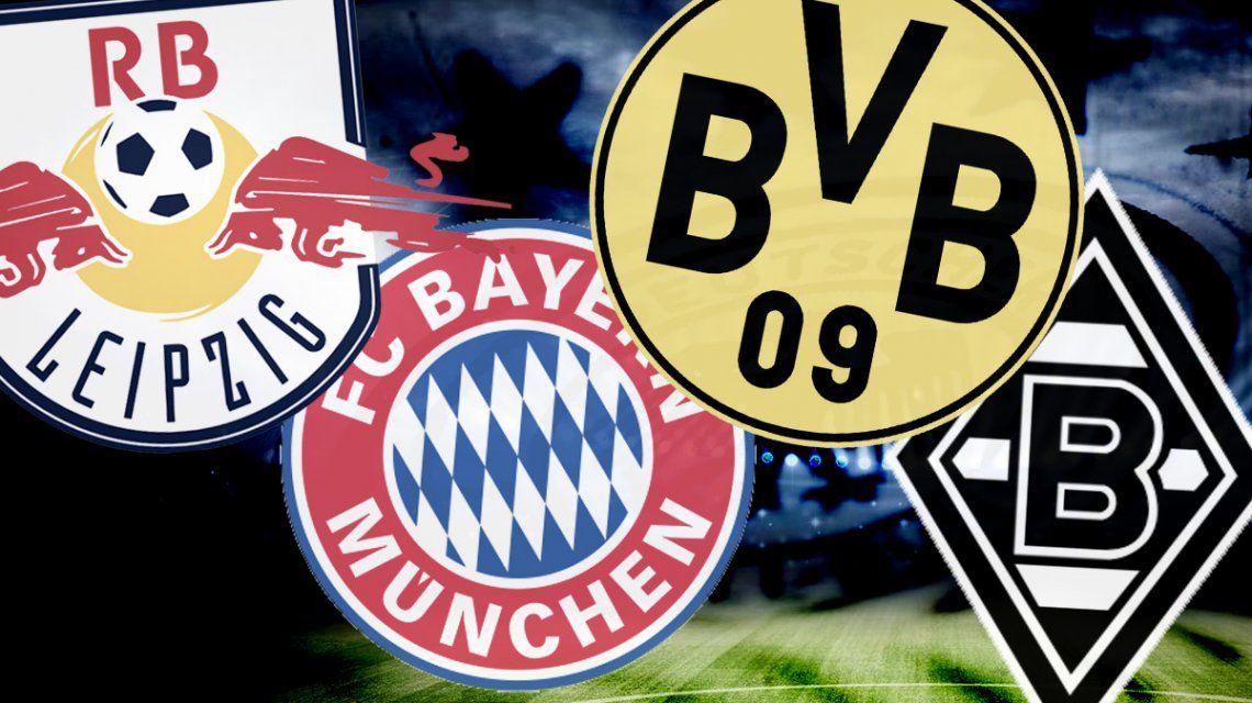 Los candidatos de la Bundesliga