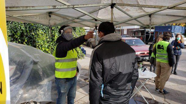 La Ciudad armó un operativo para detectar casos de coronavirus Covid-19 en la Villa 31
