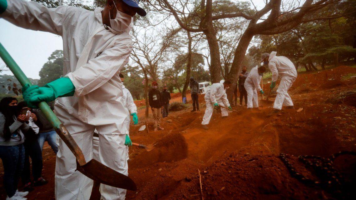 Brasil: el intendente de San Pablo promulgó el feriadazo para parar la pandemia de Covid-19
