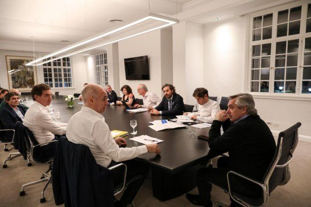 El presidente Alberto Fernández anunciará la extensión de la cuarentena con Horacio Rodríguez Larreta y Axel Kicillof