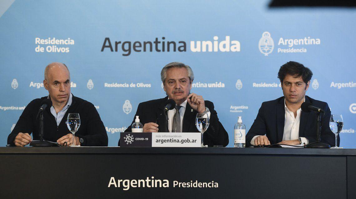 Alberto Fernández anunció que el aislamiento sigue hasta el 7 de junio