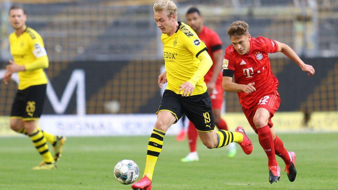 Bayern Munich venció a Borussia Dortmund y sentenció la Bundesliga