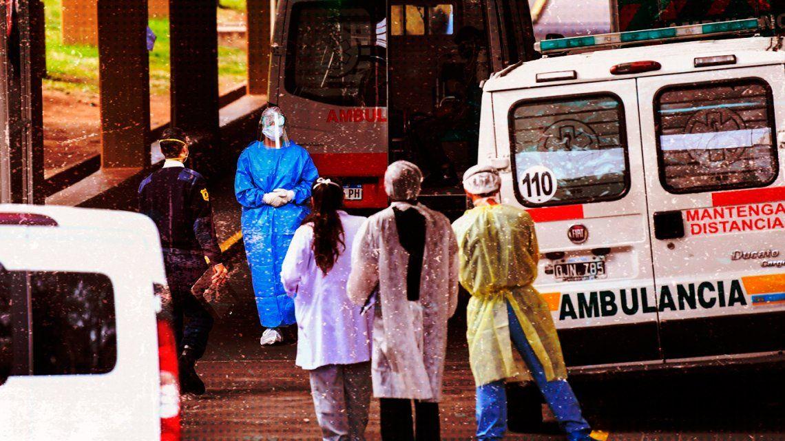 Ministerio de Salud informó que hubo 878 muertes por coronavirus en Argentina