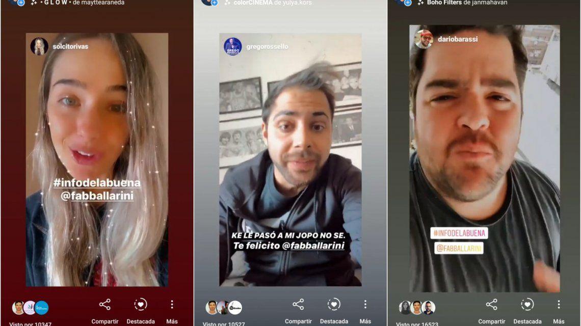 #InfoDeLaBuena: el hash con el que Fabricio Ballarini lucha junto a los influencers contra las fake news en plena pandemia