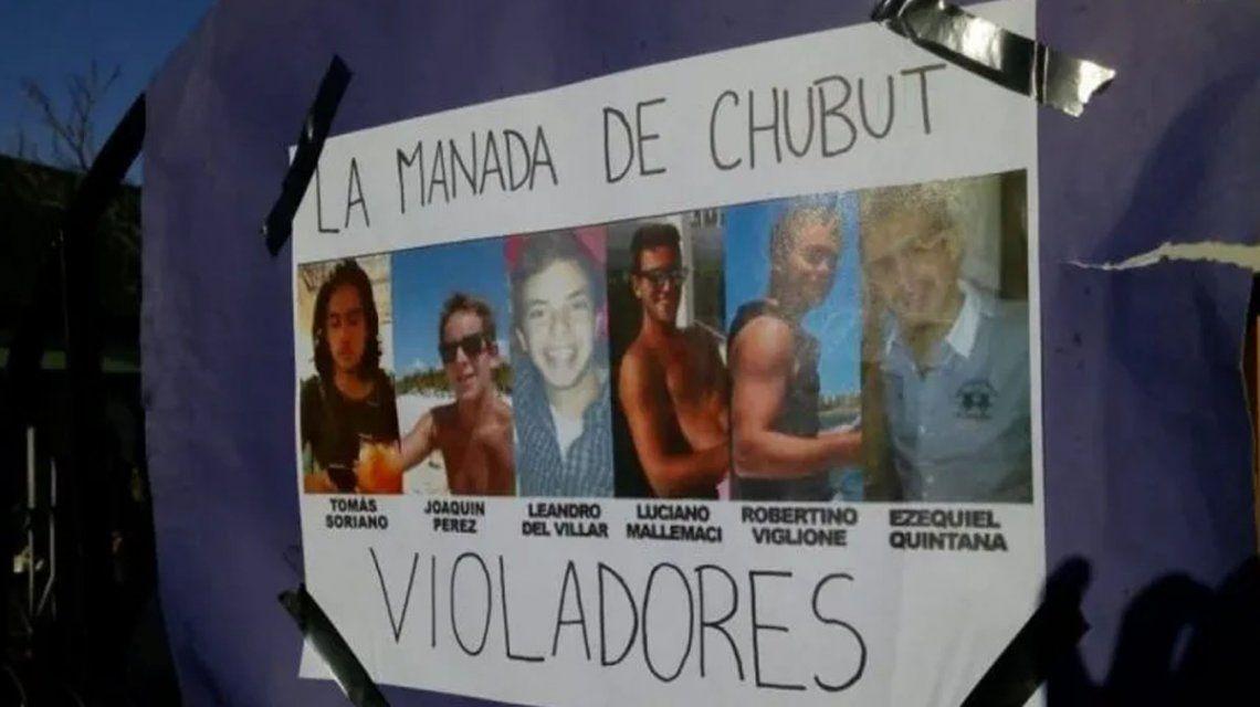 Chubut: fiscal justifica una violación en manada por desahogo sexual