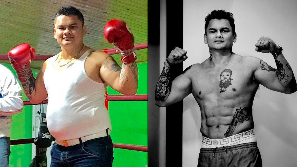 El antes y después del Chino Maidana