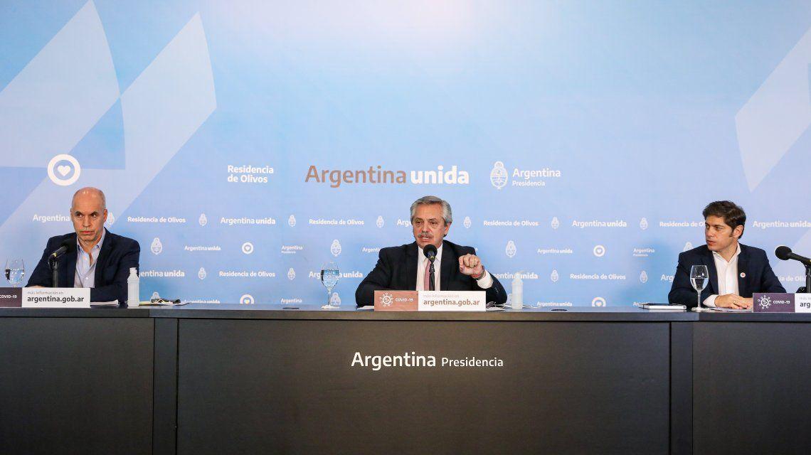 EN VIVO: Alberto Fernández anuncia la extensión de la cuarentena hasta el 28 de junio