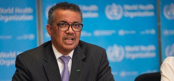 El Director general de la Organización Mundial de la Salud (OMS) Tedros Adhanom Ghebreyesus