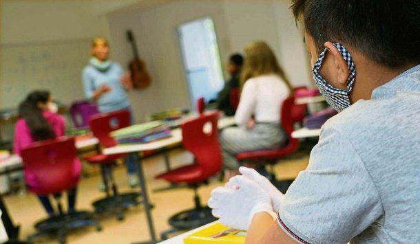 Educación: en Alemania y Austria es obligatorio el uso de barbijo dentro de las escuelas