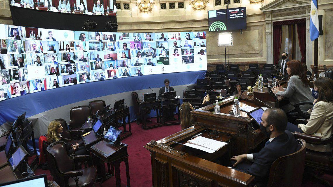 El Senado aprobó la ley de Educación a Distancia