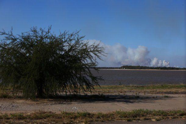 Entre Ríos podría iniciar acciones legales por la quema de humedales del Paraná