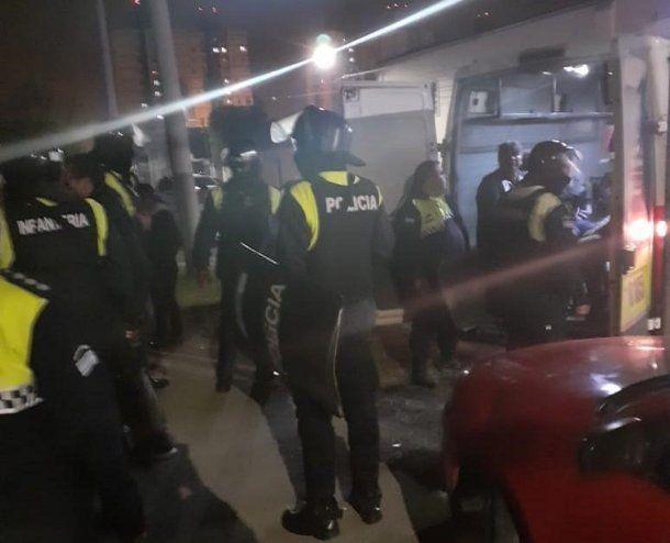 Los arrestados fueron trasladados a la Comisaría 11 de la capital