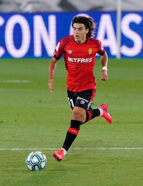 Con 15 años y 219 días debutó Luka Romero