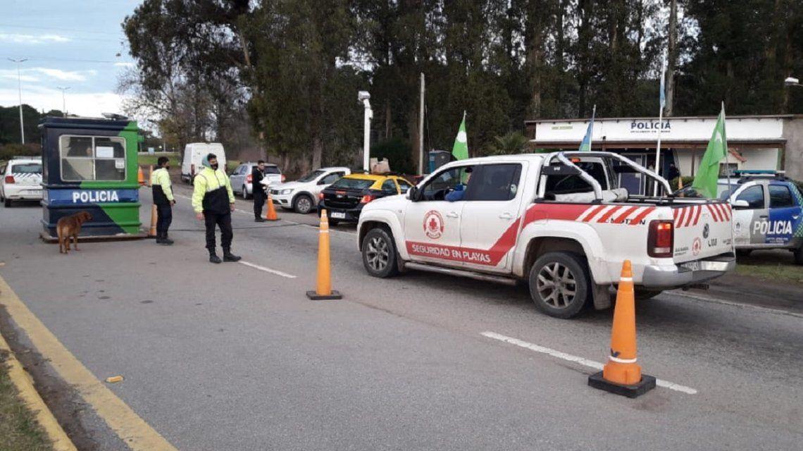 Coronacoima: ofrecieron 15 mil pesos a la Policía para que los dejaran entrar a Pinamar