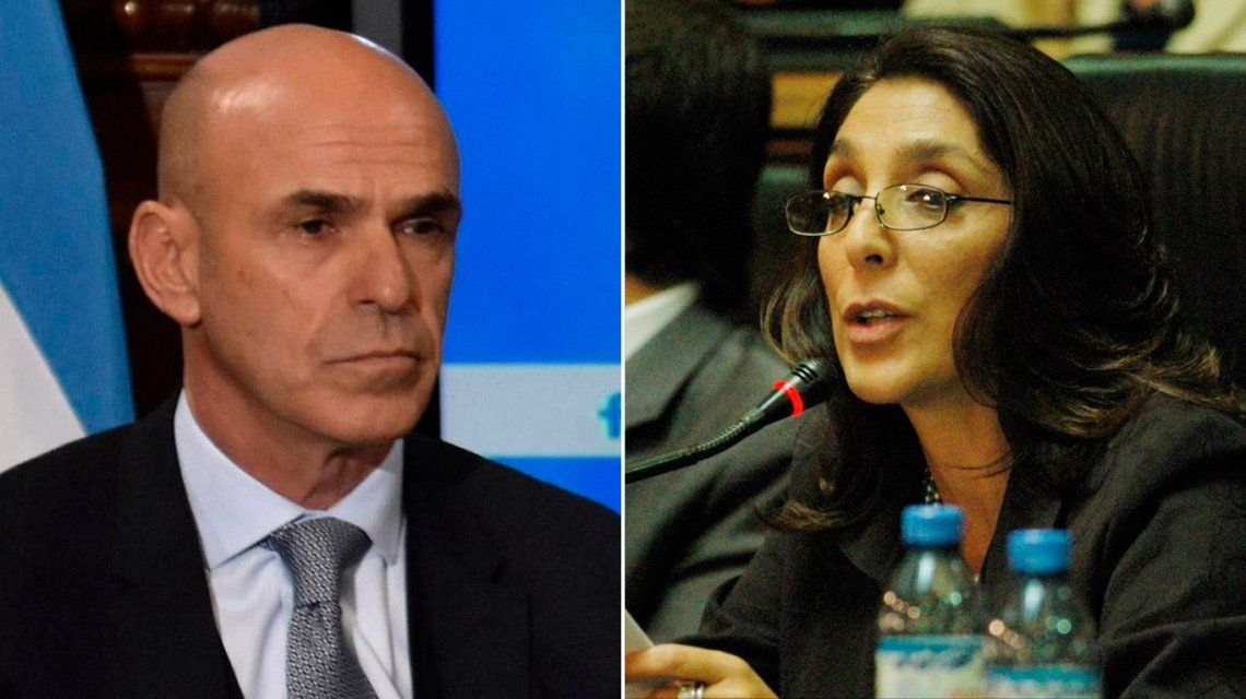 Gustavo Arribas y Silvia Majdalani