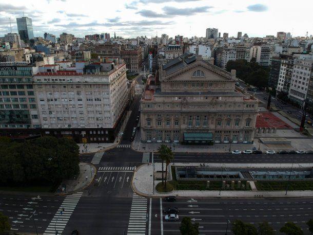 La Ciudad de Buenos Aires empezó este miércoles su cuarentena estricta para contener la pandemia de Covid-19