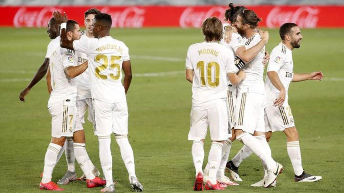 Real Madrid venció a Getafe y se consolidó en la punta de la Liga española