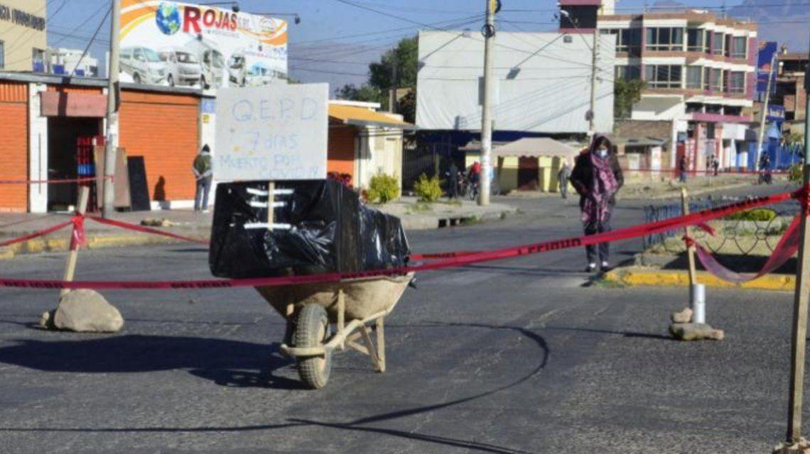 Coronavirus en Bolivia: cadáveres en las calles por el colapso del sistema funerario