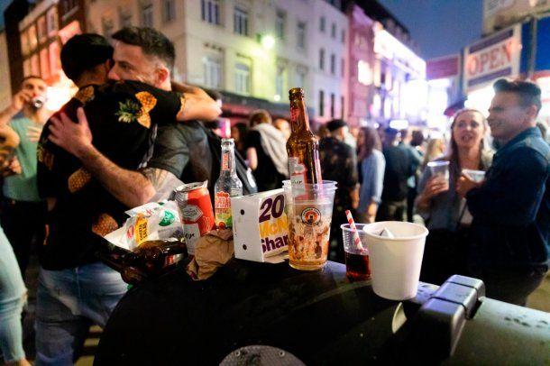 Londres: los pubs explotaron en el