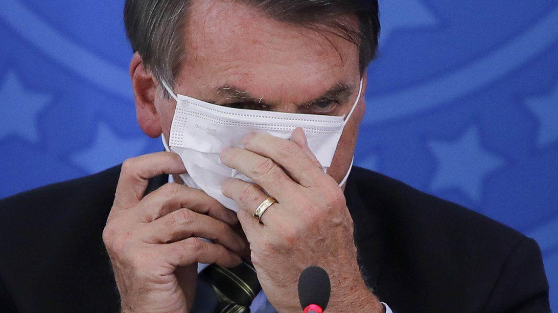 """Jair Bolsonaro tiene coronavirus: """"Estoy bien y tranquilo"""""""