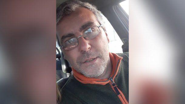 Eduardo Enrique García tiene 45 años y está desaparecido desde el 27 de junio.
