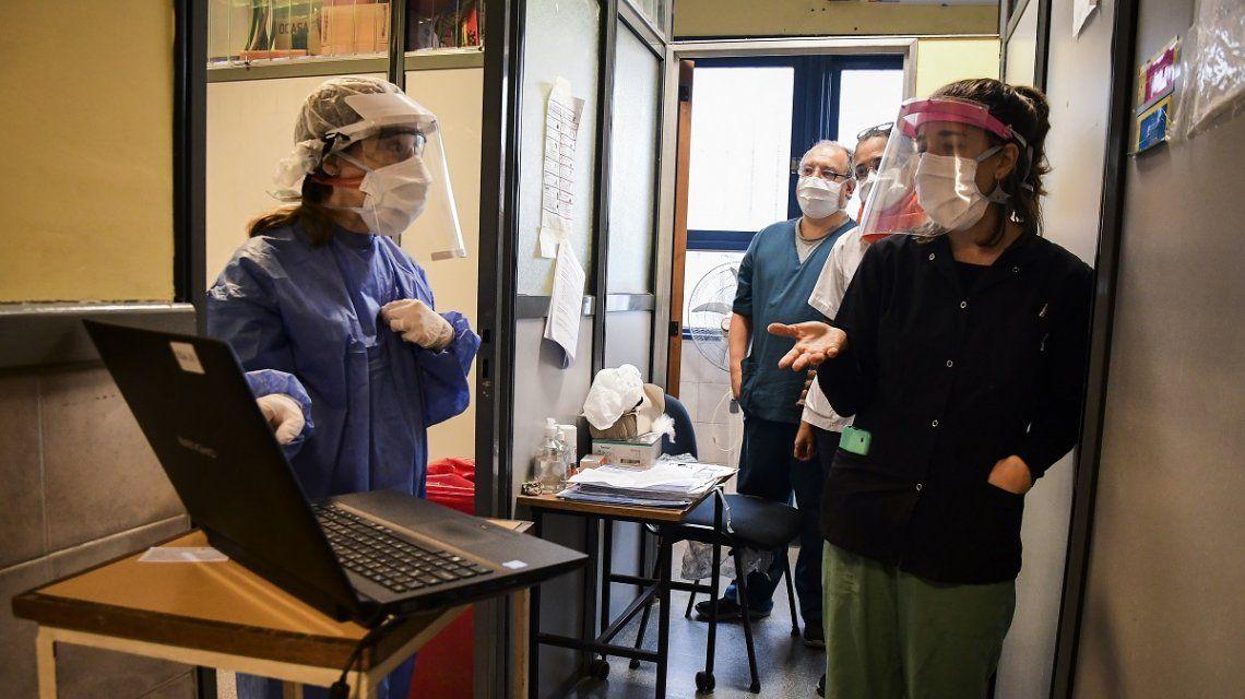 Coronavirus en la Ciudad de Buenos Aires: Plan DetectAr en la Villa 1-11-14 del barrio de Flores
