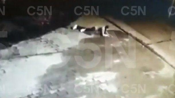 Quilmes: un video muestra el supuesto tercer tiro del jubilado a un ladrón