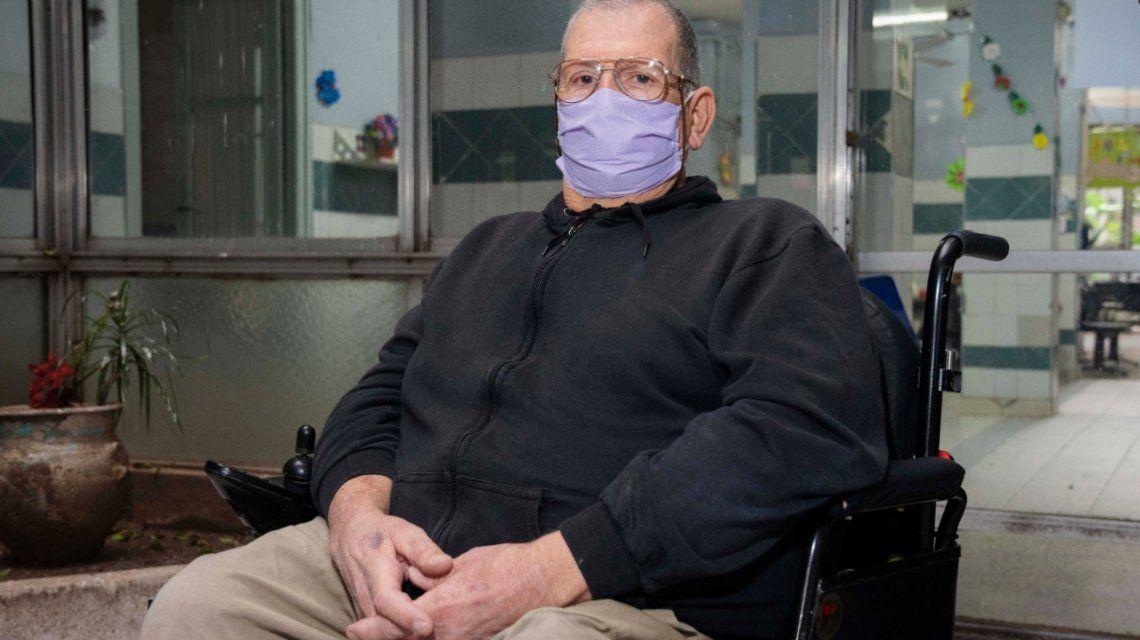 Juan Alberto Seta superó la polio y el Covid-19: Hay quetratar de cumplir con las indicaciones que nos dan