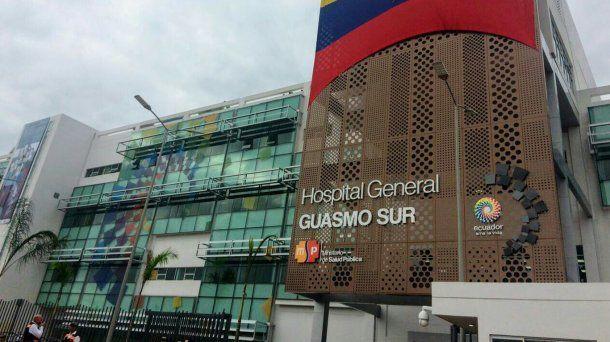 El Hospital General Guasmo Sur de Guayaquil, uno de los centros de asistencia que se vio colapsado por el coronavirus