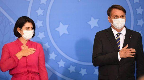 Brasil: Michelle Bolsonaro dio positivo de coronavirus