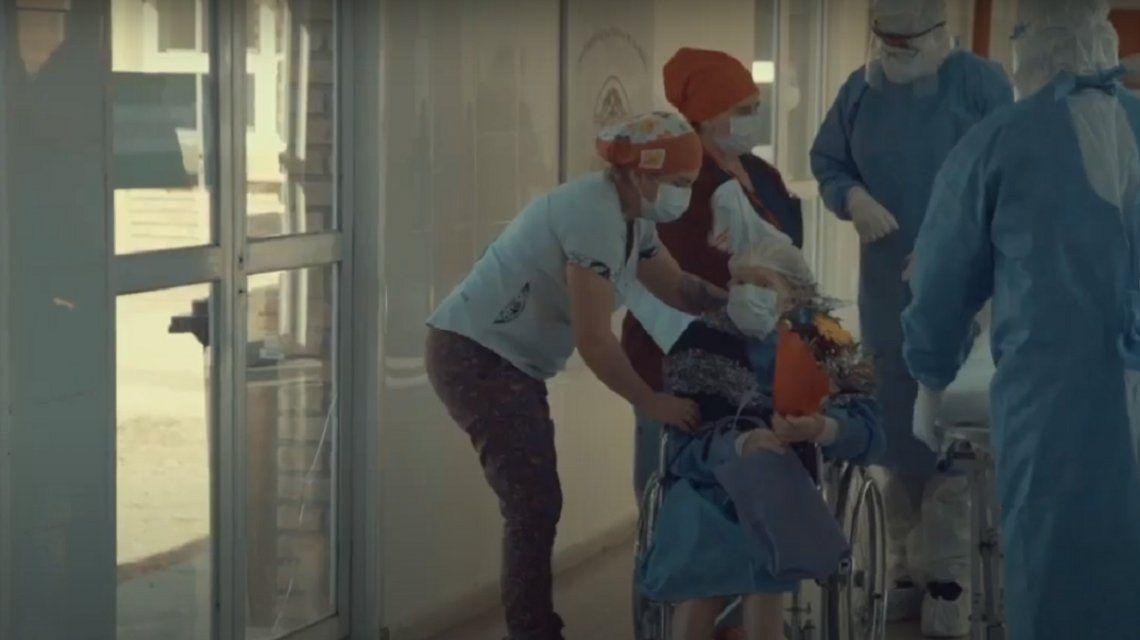 La Rioja: con 93 años, venció al coronavirus y se hizo viral