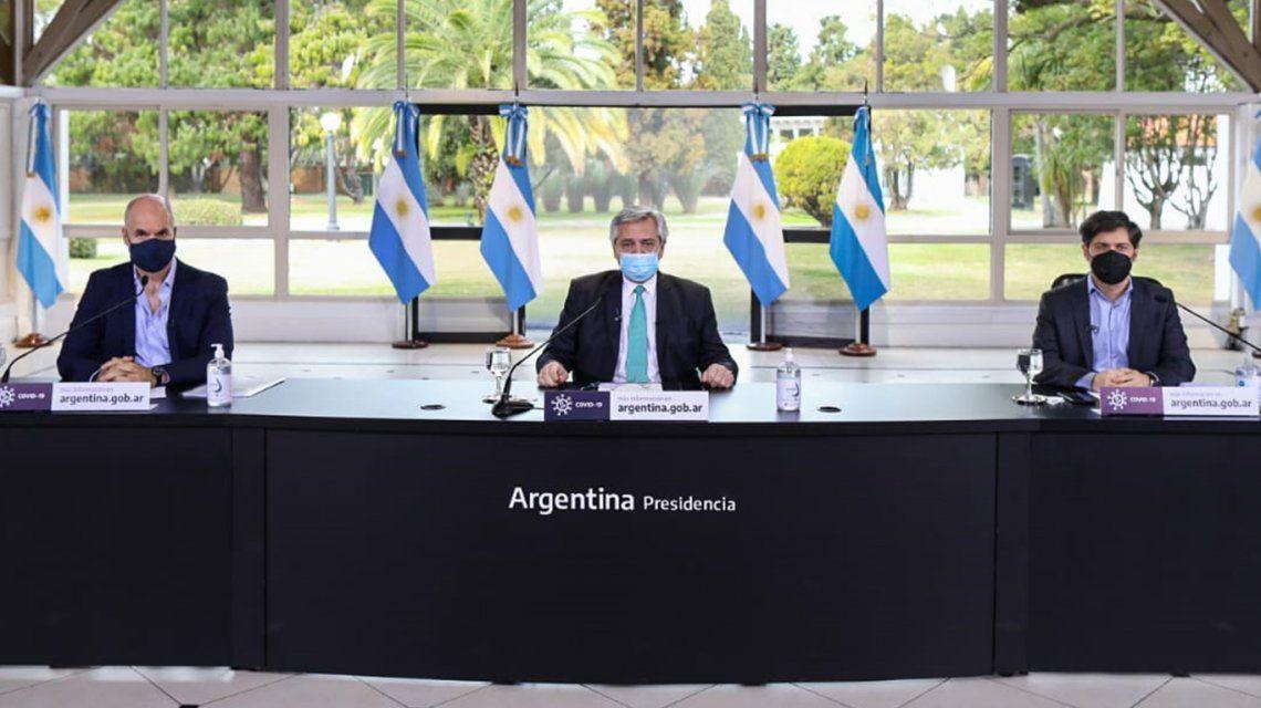 Cuarentena: sin cambios, Alberto Fernández anunció que se extenderá hasta el 16 de agosto